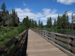 Bridge over Deschutes River