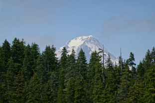 Mt. Hood from Upper Twin Lake (Custom)