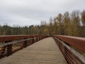 Bridge Spanning Washougal River