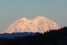 Mt. Rainier During Sunset! (Custom)