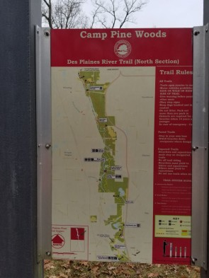 Des Plaines River Trail Map (Custom)