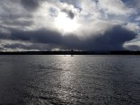 Storm Cloud Past Columbia River (Custom)